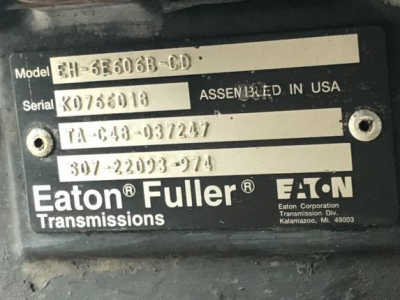 EATON FULLER OTHER P-20487