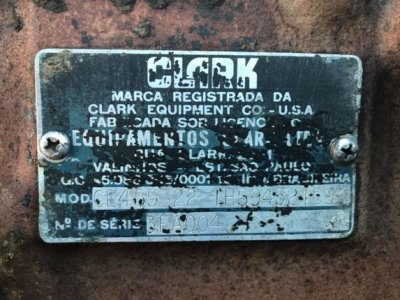 CLARK CL455 P-21079
