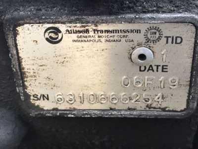 View ALLISON 1000HS - Listing #1383722