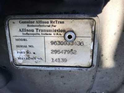 View ALLISON 1000 SERIES - Listing #1386327