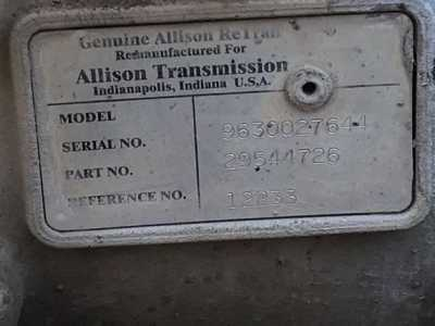 View ALLISON 1000 SERIES - Listing #1388070