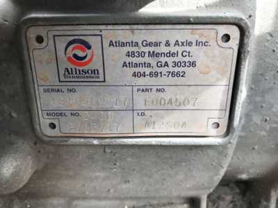 View ALLISON 2400 - Listing #1415446