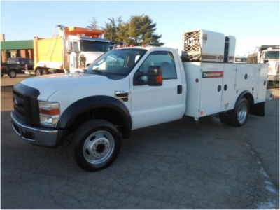 View 2008 FORD F550 XL SD - Listing #983142
