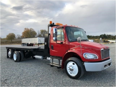 2014 FREIGHTLINER BUSINESS CLASS M2 106 Flatbed Trucks Truck