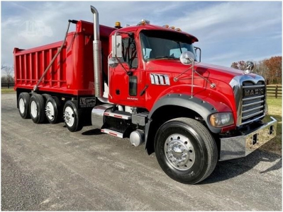 View 2013 MACK GRANITE GU713 - Listing #983174