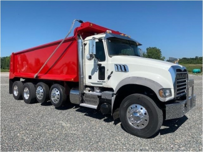 2016 MACK GRANITE GU713 Dump Trucks Truck