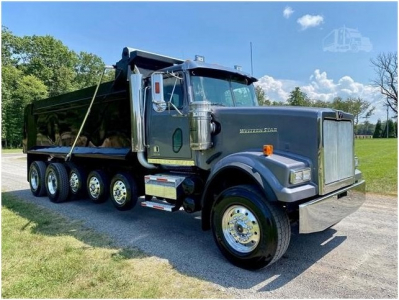 2012 WESTERN STAR 4900SF Dump Trucks Truck