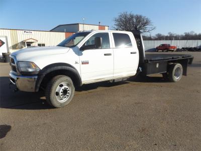 2012 RAM 4500 HD Flatbed Trucks Truck