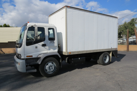 View 2007 ISUZU FVR 16 FT. CAB & CHASSIS - Listing #983703