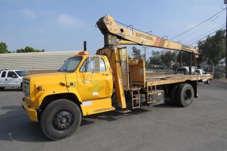 1987 GMC 7000 8 TON CRANE TRUCK Boom, Bucket, Crane Trucks Truck