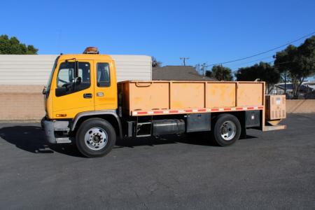 1999 GMC T7500 Flatbed Trucks Truck
