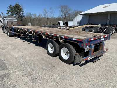 View 2007 FONTAINE 48' CLOSED SLIDING TANDEM AXLE FLATBED - Listing #1111370