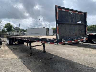 """View 2015 HOBBS 45'X96"""" CLOSED TANDEM FLATBED - Listing #1450630"""