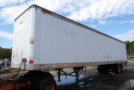 1999 GREAT DANE 7311TA Dry Van Trailers