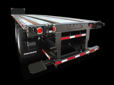 View 2022 FONTAINE 45 X 102 COMBO FLATBED W FORKLIFT KIT [QTY: 3] - Listing #1352622