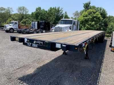 """View 2015 DORSEY 48'X102"""" CLOSED-SLIDING TANDEM FLATBED - Listing #1450416"""