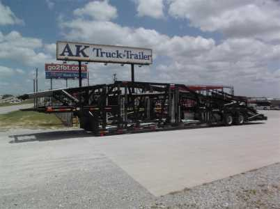 View 2009 COTTRELL C-5309 9 CAR HAULER HYDRAULIC SELFCONTAINED - Listing #1521315