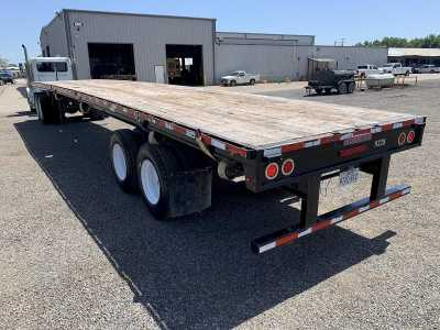"""View 2015 FONTAINE 48'X102"""" CLOSED-SLIDING TANDEM FLATBED - Listing #1450603"""