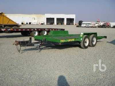 View 2013 BEST TRAILER 16 FT X 6 FT 8 IN. TA - Listing #1604513