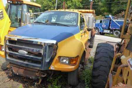 View 2007 FORD F650 - Listing #1623083