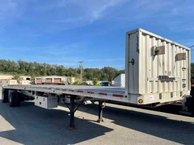 View 2007 FONTAINE 48X102 ALL ALUMINUM FLATBED - Listing #1627739
